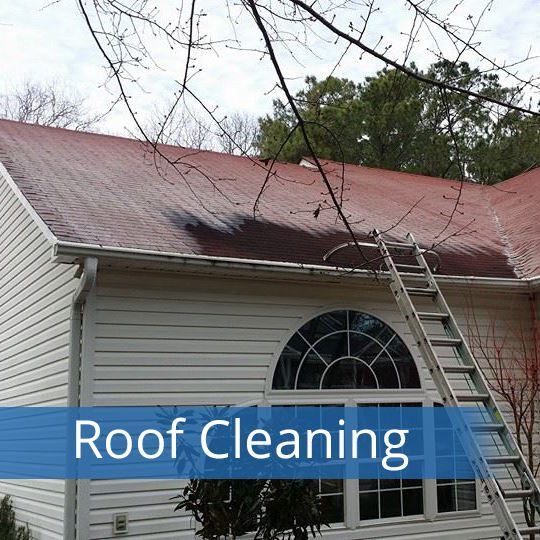 roof cleaning, wilmington nc